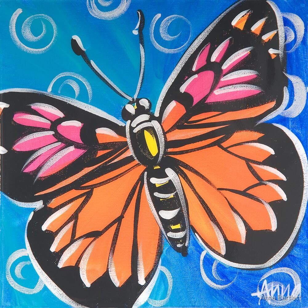 Butterfly 4 by Anna Bartlett