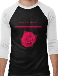 Rose Radtko - Love is in the air (I) Men's Baseball ¾ T-Shirt