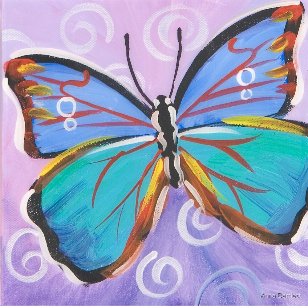 Butterfly 10 by Anna Bartlett