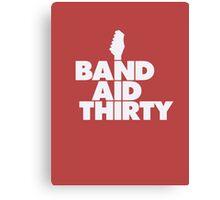 Band Aid 30 Canvas Print