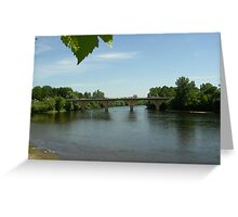 River Dordogne Greeting Card
