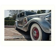 Vintage car 2 Art Print