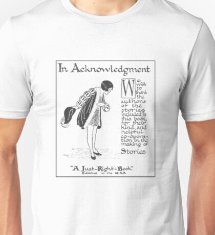 Acknowledge Book Shirts For Men Unisex T-Shirt