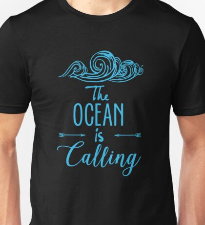 The Ocean is Calling Unisex T-Shirt