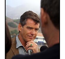 Pierce Brosnan by Felicity White
