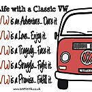 Life with a classic VW by Sharon Poulton
