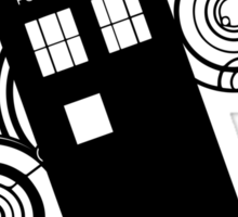 doctor who tardis r Sticker