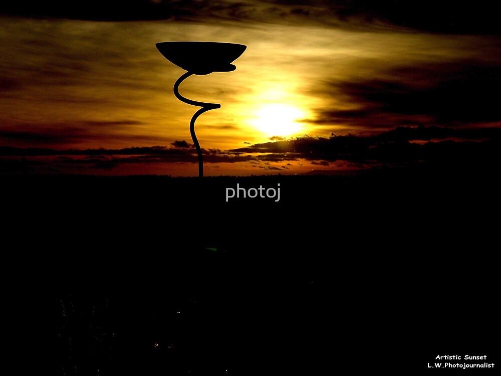photoj Artistic Sunset by photoj