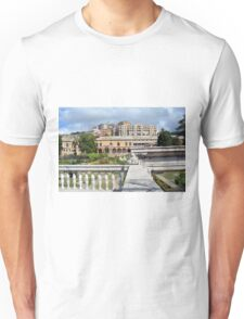 Beautiful Italian architecture from Genova, Italy Unisex T-Shirt