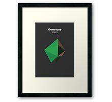 Gemstone - Xirdalium Framed Print