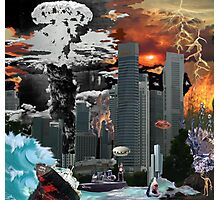 """my vision of """"Infinite Future Chaos"""". Photographic Print"""