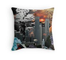 "my vision of ""Infinite Future Chaos"". Throw Pillow"