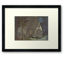 Aarons Cottage Framed Print