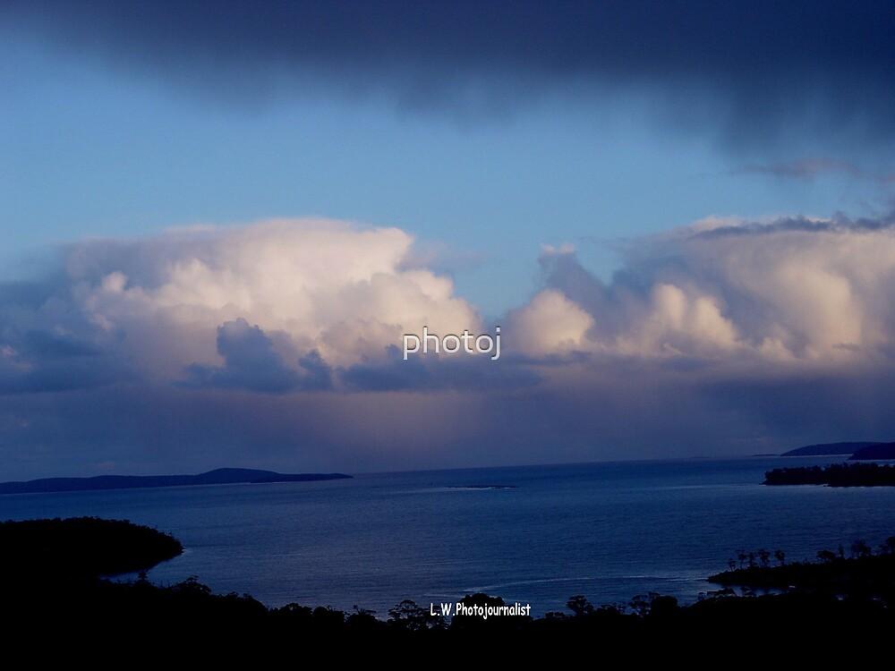 photoj 'Boney Blue Landscape' by photoj