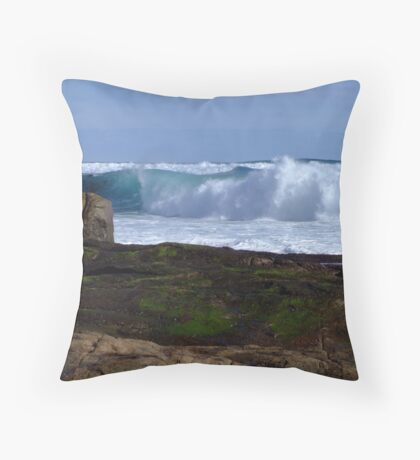 Margaret River Wave Throw Pillow