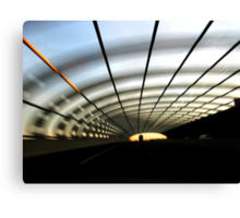 Driven #1: Belly Of A Snake Canvas Print