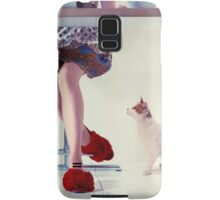 Cat Woman Samsung Galaxy Case/Skin