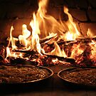 Woodfire Pizza by Chris Annable