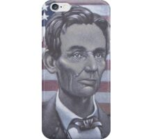 Abe Lincoln iPhone Case/Skin