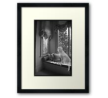 'The Space between us' 2007 Framed Print