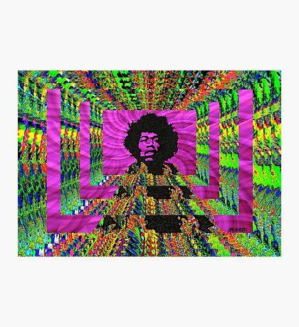Jimi Hendrix Photographic Print