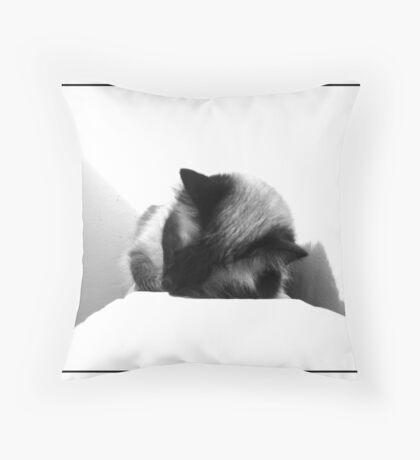 Sleepy Throw Pillow