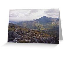 Scramble - Wales Greeting Card