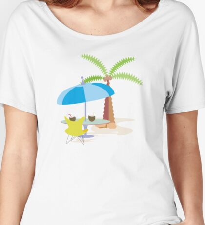 Hurrah, vacation! Women's Relaxed Fit T-Shirt