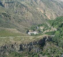 Gorge at Geghard Temple ARMENIA by AlanABarrett