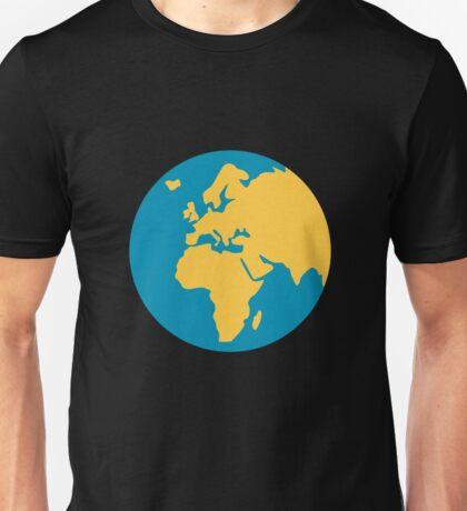 Earth globe Europe-Africa Unisex T-Shirt
