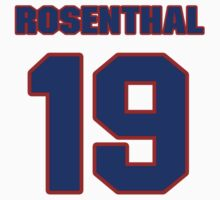 National baseball player Larry Rosenthal jersey 19 by imsport