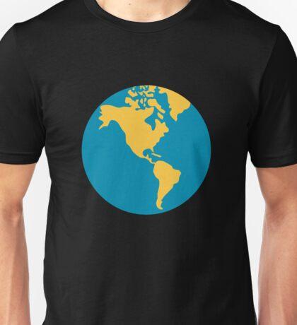 Earth globe Americas Unisex T-Shirt