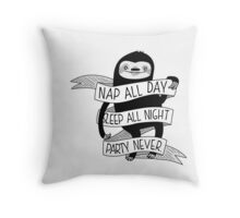 Life Sloth Throw Pillow