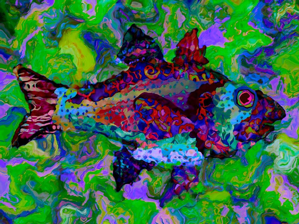 Batik Fish 2 by DigitalMuse