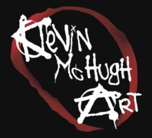 Kevin Mc Hugh Art official logo Kids Clothes