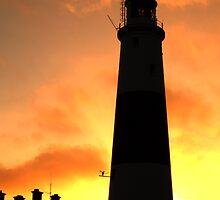 portland bill at sunrise by paul777