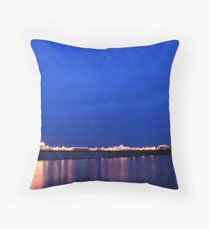 From blue to blue! Throw Pillow