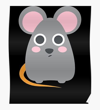 Cute rat Poster