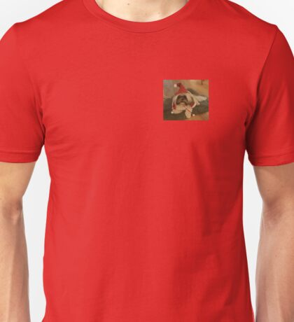 Grumpy Christmas Dog! Unisex T-Shirt