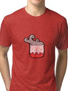 bubbling chemicals cartoon Tri-blend T-Shirt