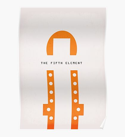 The Fifth Element (1997) - Minimal Poster Poster