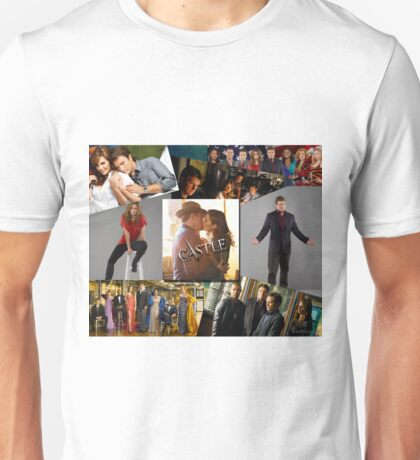 Castle Collage Unisex T-Shirt