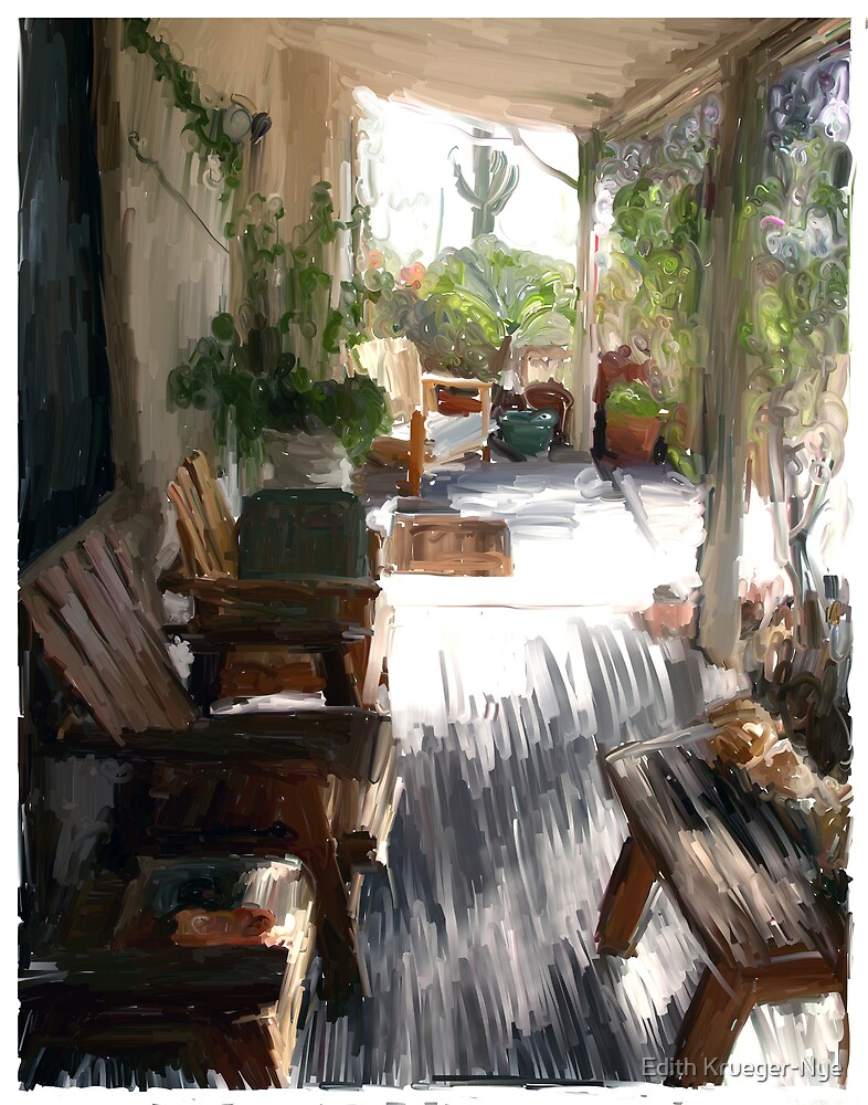 My Porch by Edith Krueger-Nye