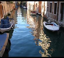Boats on the Grande Canal by Valli  aka Frankiesgirl