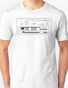 Tb-303 Bass-Line Tribute Unisex T-Shirt