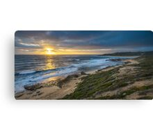 Winter sunset at Prevelly Canvas Print