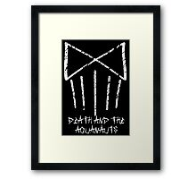 Death and the Aquanauts Framed Print