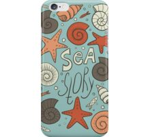 Sea story iPhone Case/Skin