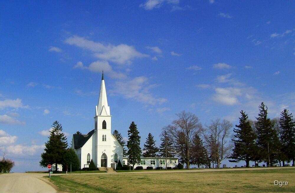 L'il Church on the Prairie by Ogre