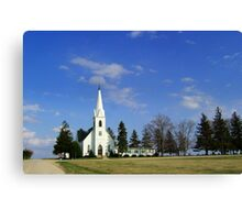 L'il Church on the Prairie Canvas Print